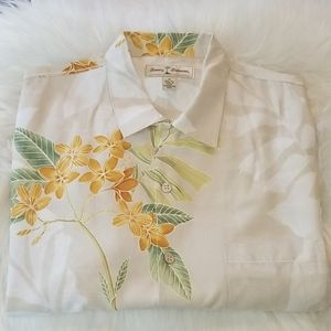 Medium Tommy Bahama Hawaiian Button Silk Shirt